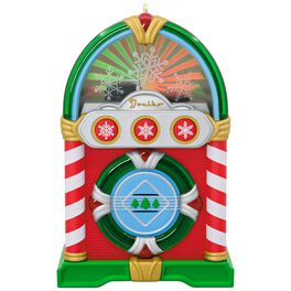 Jolly Jukebox Musical Ornament With Light, , large