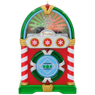 Jolly Jukebox Musical Ornament With Light,