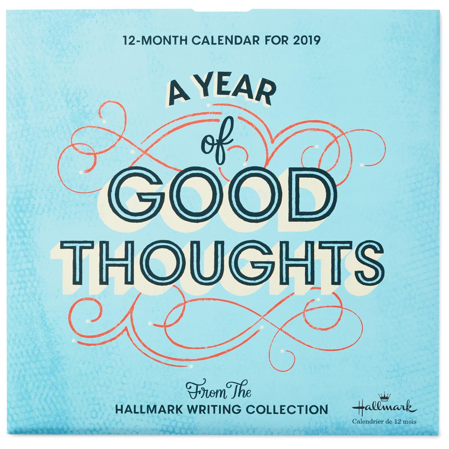 a year of good thoughts 2019 wall calendar 12 month calendars