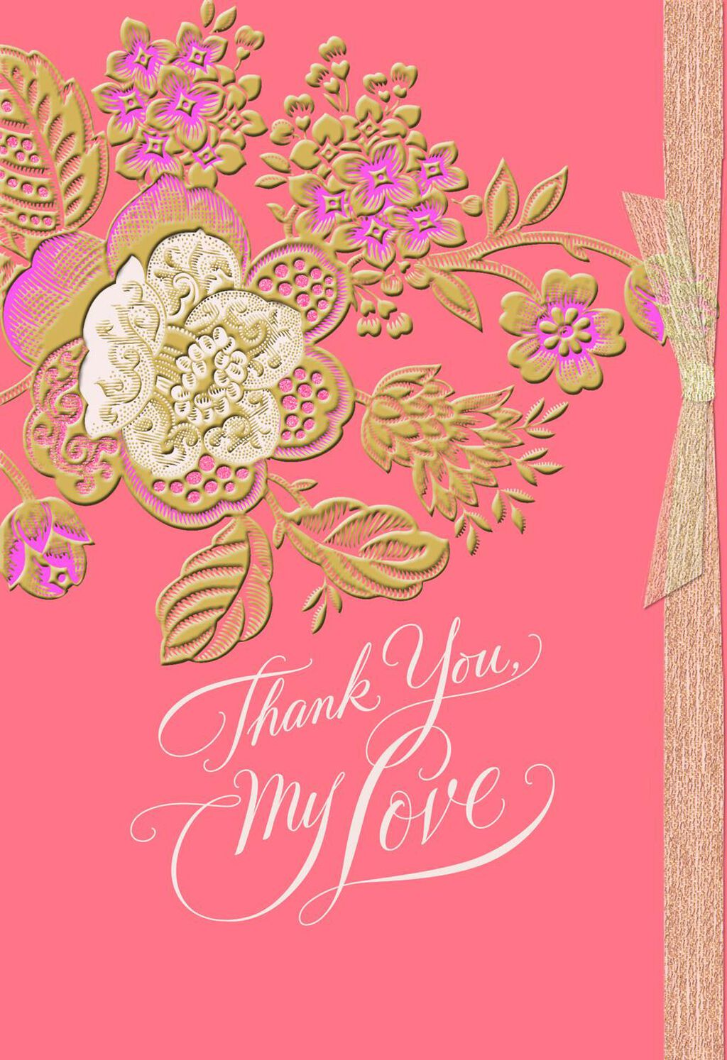 Thank You My Love Mothers Day Card For Wife Greeting Cards
