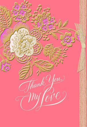 Thank You, My Love Mother's Day Card for Wife