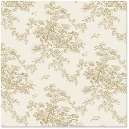 Gold Toile Wrapping Paper Roll, 27 sq. ft., , large