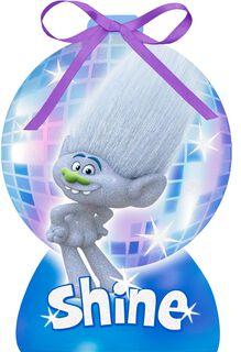 DreamWorks Trolls Guy Diamond Holiday Magic Christmas Card,