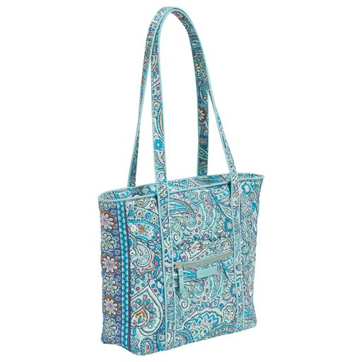 a82220faf82a ... Vera Bradley Iconic Small Tote Bag in Daisy Dot Paisley