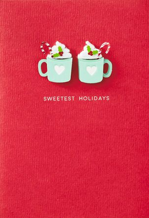 Sweetest Holidays Christmas Card for Couple