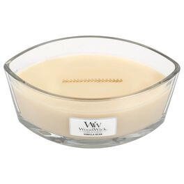 WoodWick® HearthWick Flame® Candle, Vanilla Bean, , large
