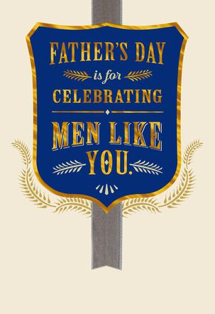 Celebrating You Father's Day Card for Husband