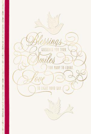 May Love Light Your Way Christmas Card