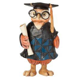 Jim Shore® Mini Graduation Owl Figurine, , large