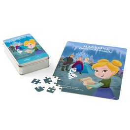 Disney Frozen Personalized Puzzle and Tin, , large