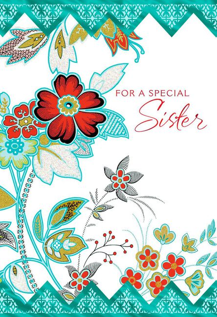 Hugs Across The Miles Birthday Card For Sister Greeting Cards