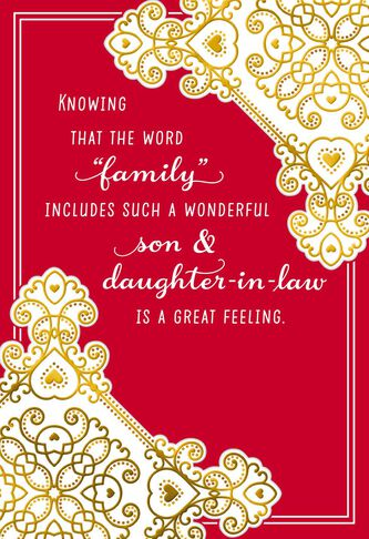 Special family valentines day card for son and daughter in law special family valentines day card for son and daughter in law m4hsunfo