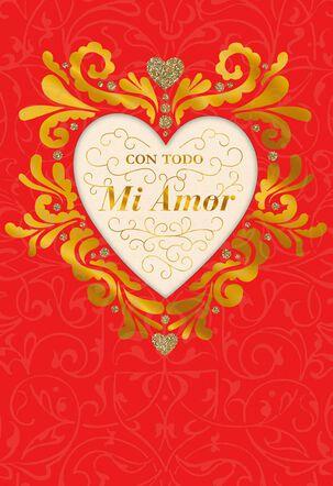 Happy Love Day Spanish-Language Valentine's Day Card