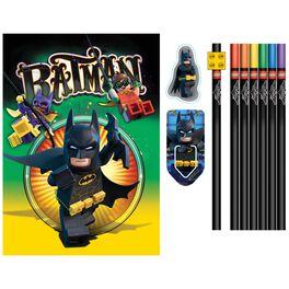 The LEGO® BATMAN™ Movie Stationery Set, 12 Pieces, , large