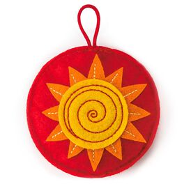 Recordable Sun Sound Charm Token, , large
