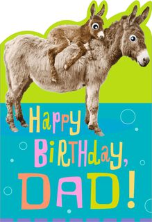Little Pain in the… Funny Birthday Card for Dad,