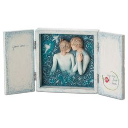 Willow Tree® Duet Love Song Box, , large
