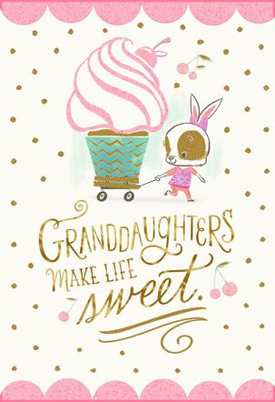 Sweeties Like You Birthday Card for Granddaughter