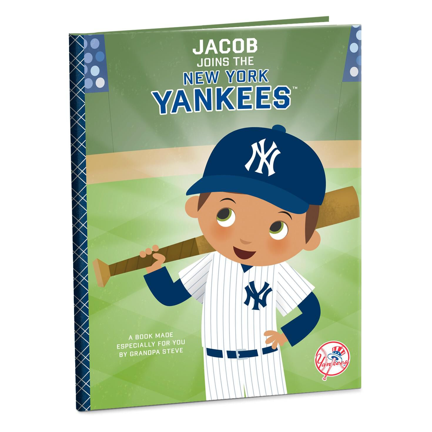 pretty nice fb502 82f89 New York Yankees™ Personalized Book