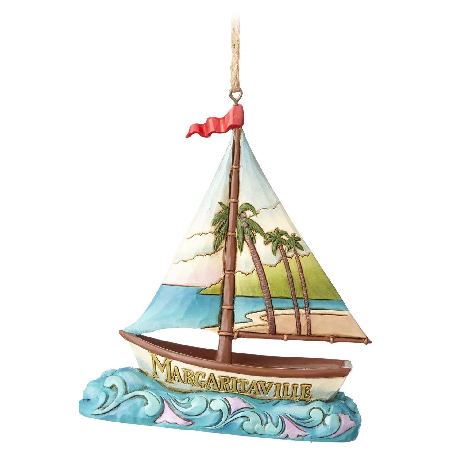 Jim Shore® Margaritaville Sailboat Ornament  Specialty Ornaments  Hallmark