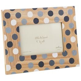 Grey Polka Dot Picture Frame, 4x6, , large