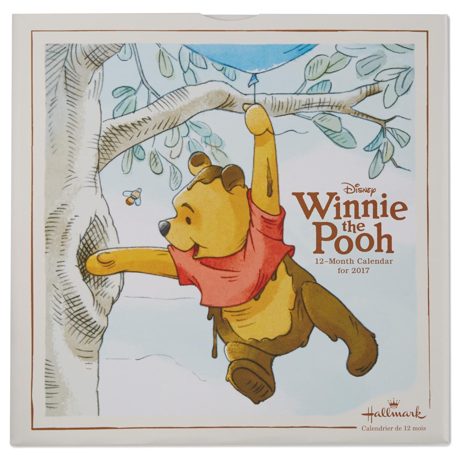 Winnie the Pooh 2017 Wall Calendar - Calendars - Hallmark