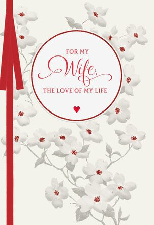 Love and Promises Valentine's Day Card for Wife