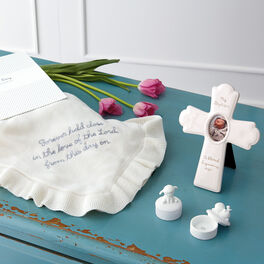 Religious Blessings Baptism Gift Set, , large