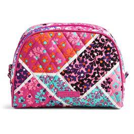 Vera Bradley Medium Zip Cosmetic Bag in Modern Medley, , large