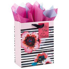 "Feliz Día de las Madres Large Gift Bag With Tissue Paper, 13"", , large"