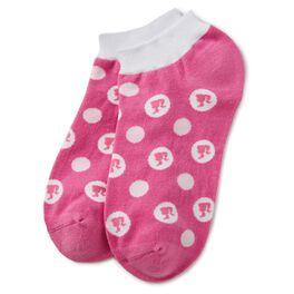Barbie™ Pink Barbie™ Silhouette Ankle Socks, , large