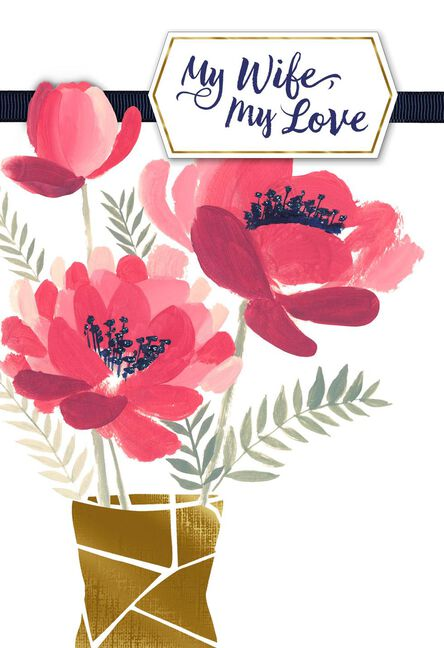 a simple thank you mother s day card from husband greeting cards