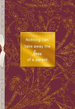 Love of a Parent Sympathy Card