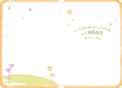 Hugging Lambs Get Well Card,