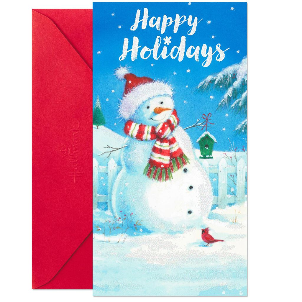 Santa Snowman Money Holder Christmas Cards, Pack of 10 - Boxed Cards ...