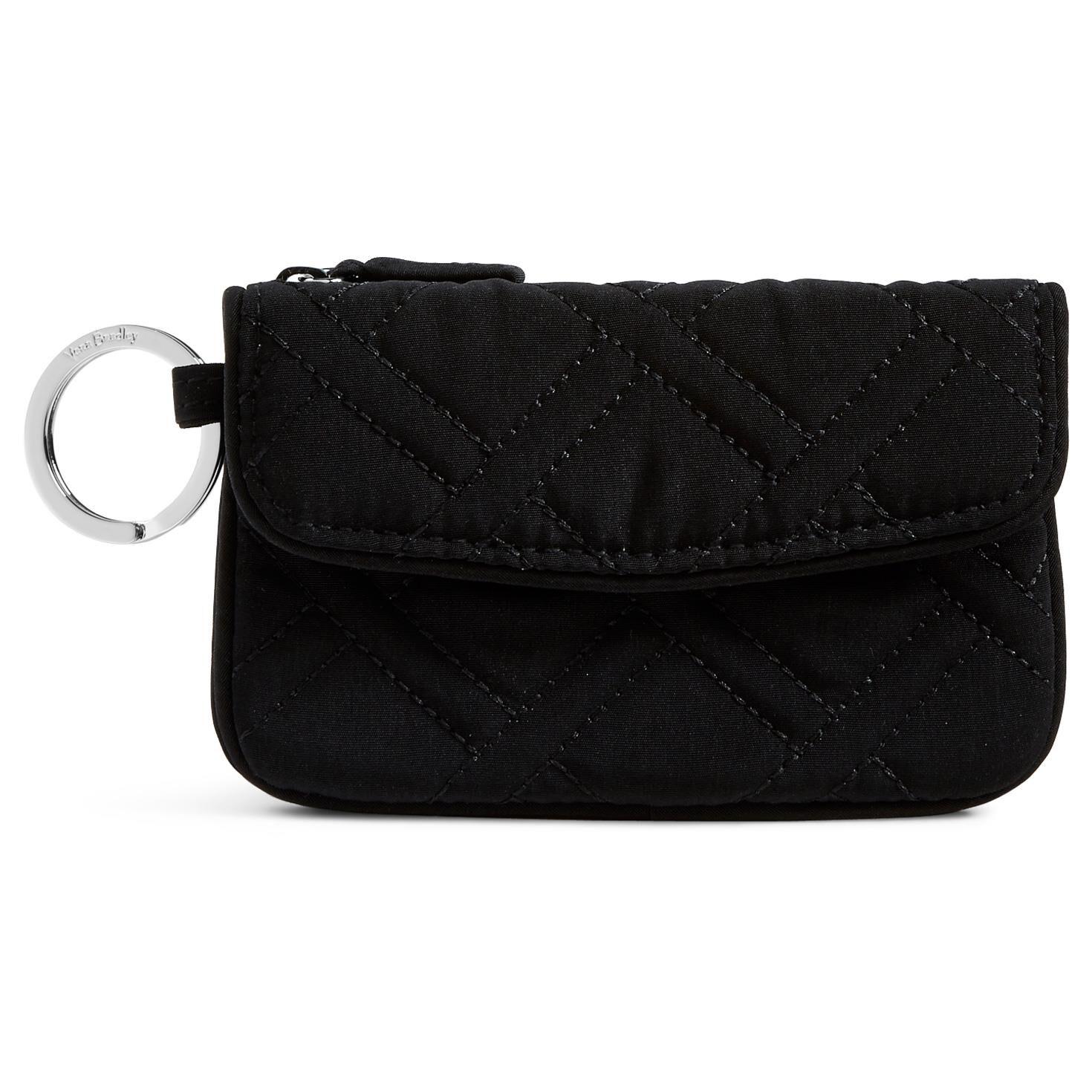 Vera Bradley Jen Zip ID Case in Classic Black - Handbags & Purses ...