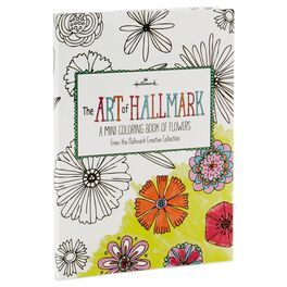 The Art of Hallmark, A Mini Coloring Book of Flowers, , large