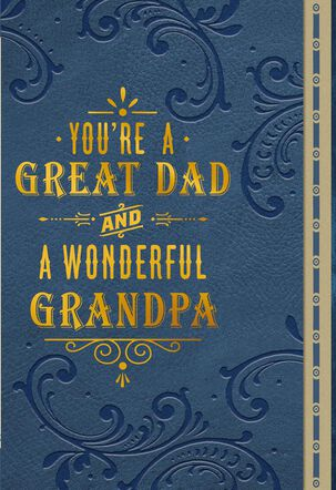 You're Everything and Then Some Birthday Card for Grandpa