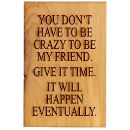 Crazy Will Happen Eventually Magnet, , large