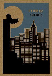 Do It Justice Batman™ Birthday Card,