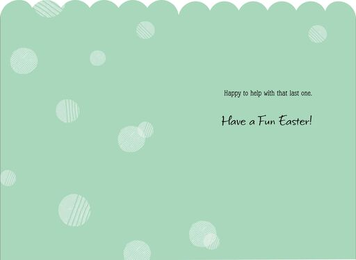 Eat Sweets and Be Loved Easter Card for Child,