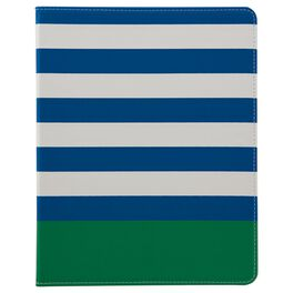 Pretty and Preppy Striped iPad Case, , large