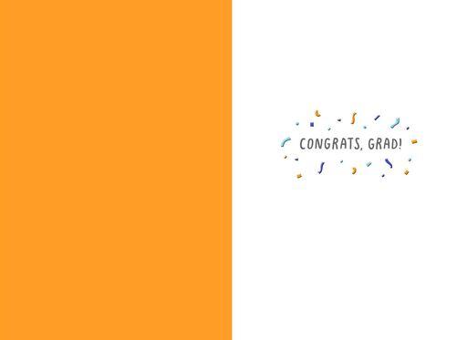 Ready Confetti Graduation Card,