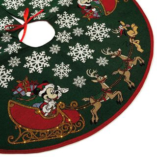 Mickey Mouse Oh, What Fun! Tree Skirt With Light,
