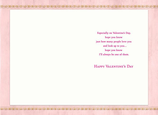 I Admire You Valentine S Day Card For Mother In Law