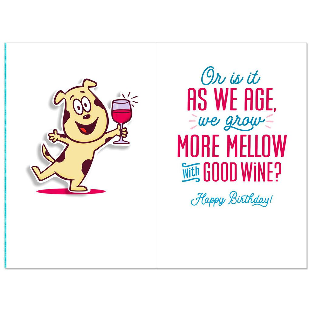 Like Good Wine Funny 60th Birthday Card