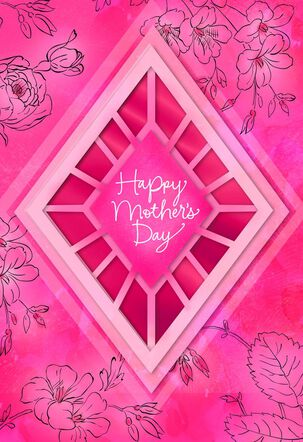 You Deserve All the Joy Mother's Day Card Supporting Susan G. Komen®