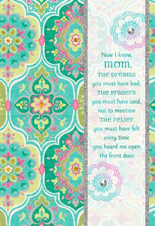 Your Dreams and Prayers Mother's Day Card