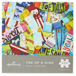 Toe of a Kind Socks 550-Piece  Puzzle, , large