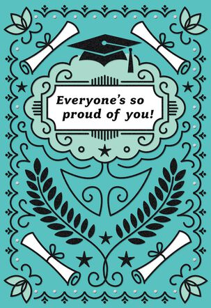 We're So Proud of You Graduation Card